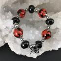 Bracelet graines de liane réglisse