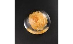 Presse-papiers rose rose abricot petit modèle