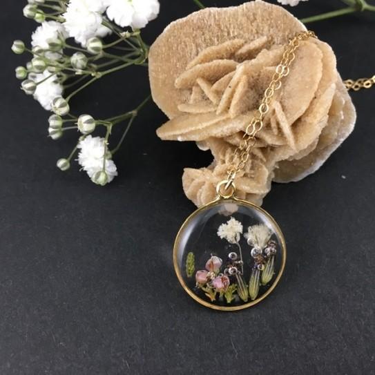 Médaillon composition florale modèle 4